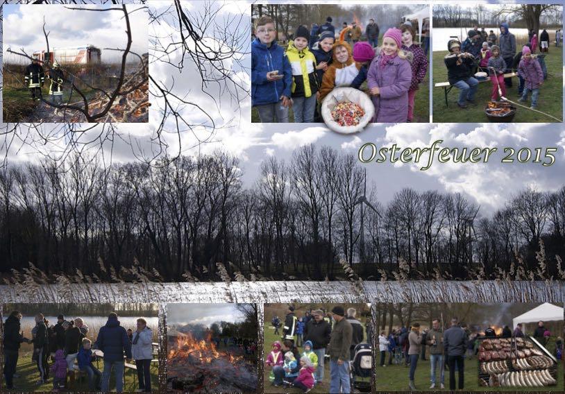 Eindrücke vom Osterfeuer 2015