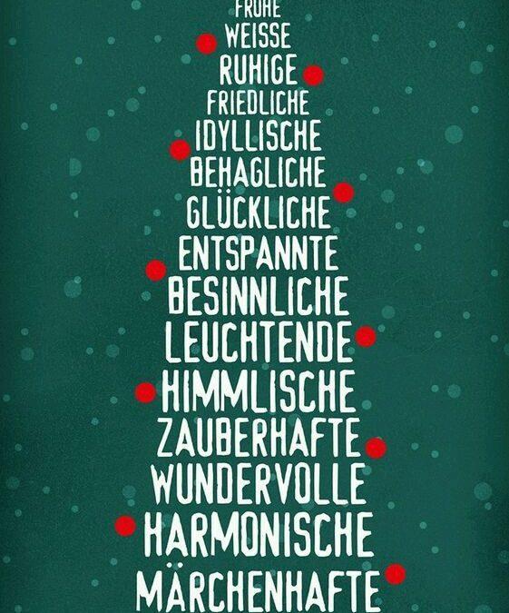 Weihnachtsgrüße und Grüße zum Jahreswechsel